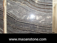 Buy Chinese Antique Grey Wood Grain Marble Slabs For Sale