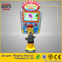 3d video Motorcycle kiddie rides, Swing Rides on motorcycle, coin-operated racing game for sale
