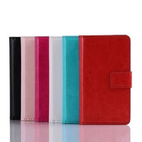 Magnetic PU Leather Slot wallet Cover Case For LG Optimus L5 II E450 E460