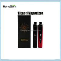 2015 hybrid vape pen pure vapor herbal vaporizer titan dry herb vape, vs upgrade titan 2