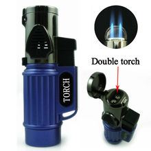 Cigar Double torch cigaretter lighter