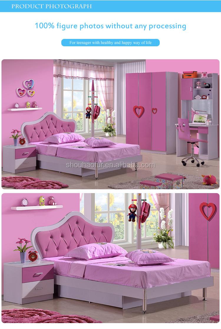 2015 süßen rosa farbe kinder prinzessin bett für mädchen 8101b ...