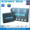 Azfree duo sat the fta box satellite tv receiver