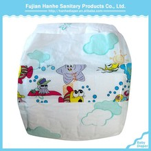 High Absorption Breathable PE Film Disposable Diaper