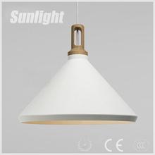 Vintage Lighting american rural white cap chandelier iron wok moderrn shade Industrial pendant lamp/ chandelier/droplight