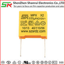 .033uF 275VAC MKT polyester X2 Safety capacitors