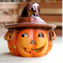 custom made Hot sale halloween light up pumpkin lighted pumpkins lighted halloween plastic pumpkins