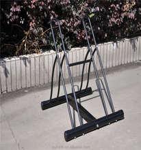 outdoor bike display rack and stand& portable bike storage rack