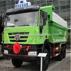 Iveco Hongyan 6x4 290hp left hand drive tipper truck