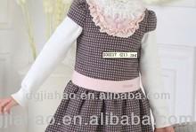 ¡¡2014 DISEÑO !! Ropa de bebé, bebé vestido 100% clásico algodón