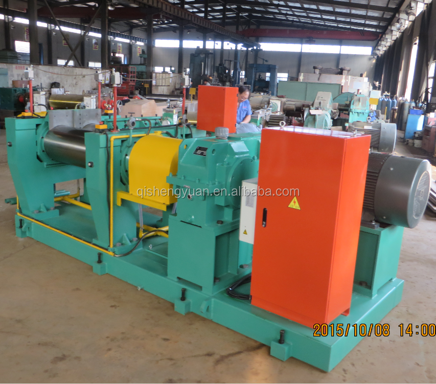 Xk-400 Two Roll Mill For Mixing Rubber And Plastic - Buy