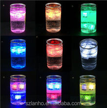 Flash Ice Cube LED Color Luminous in Water nightlight