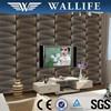 SJ10607 Cheap price modern designed pvc embossed 3d wallpaper interior decoration