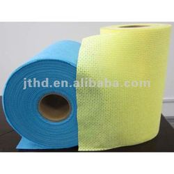 Nonwoven Cellulose Polyester Wipes