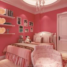 Bedroom decorating wallpaper,solid color wallpaper