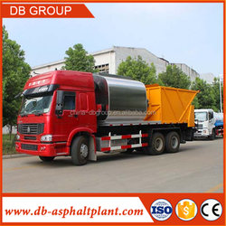 asphalt synchronous chip sealer, distribute bitumen and aggregate at the same time