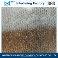China 100% knitted polyester fabric tearable interlining With SGS