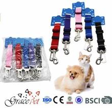 [Grace Pet] Vehicle Seatbelt leash lead Travel For Small / Medium / Large Dogs,Cats