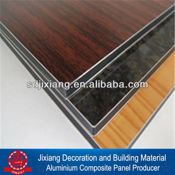Aluminium panneau composite 4 mm imitation bois panneau - Panneau composite aluminium ...