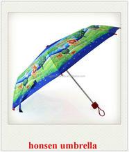 honsen Ladies Gift Items Compact Umbrella Folding Rose Vase Bottle Umbrella