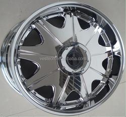 18*8.0 inch 6*114.3 offset 25 Chrome alloy wheel