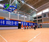 antislip wood vinyl PVC basketball flooring