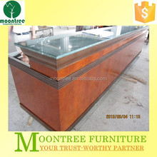 Moontree MDR-1320 wooden corner bar counter furniture for sale