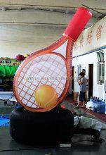 2015 waha customized inflatable tennis racket
