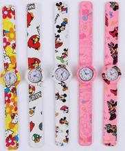 China Wholesales High Quality Environmental Silicone Adjustable Watch Lady Watch