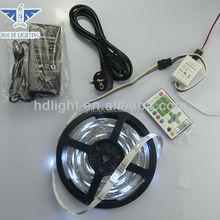 most popular RGB Chasing Running flexible led strip light+24key remote control