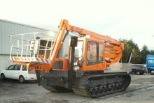 Tracked Yanmar CG120R with Isoli PNT280J Cherrypicker