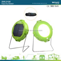 Green solar and hand crank lamp,led christmas lighting,solar led buoy light