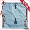 Guangzhou free sample LDPE material plastic drawstring laundry bag