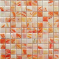 Rainbow Color Glass Mosaic Tile