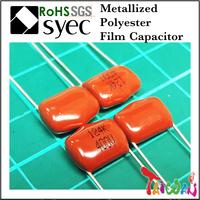 Capacitor Manufacturer MEF 223J 250V Metallized Polyester Film Capacitor