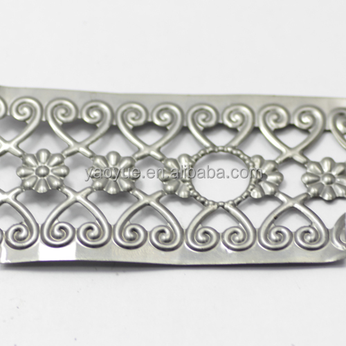 50mm in roll 100meter decorative lace perforated metal