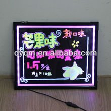 new products mobile phones display sign board LED writing board advertising product