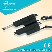 12 volt high-speed small telescoping electric linear actuator and control box used for Furniture spare parts,Home Appliance