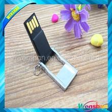Flip metal usb flash drive, Mini usb flash,protable Usb memory disk