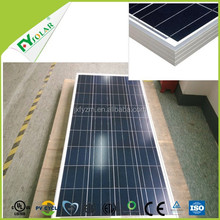 on sale solar panel price per watt of 130W poly solar panel from chinese factory