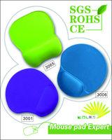 Custom computer and Laptop Ergonomic Gel Wrist Rest Mouse Pads