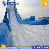 China Manufacture Hot Sale Durable 1.0mm PVC Tarpaulin Giant Inflatable Water Slide for Adult for Sale