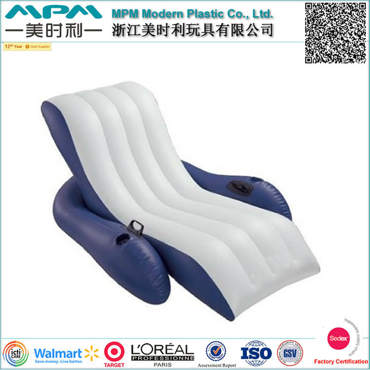 Inflatable Pool Lounge Chair Lake Floating Raft Chair Buy Inflatable Pool L