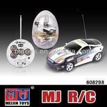 shantou chenghai toy factory 1:63 coke can mini rc car 4 channel mini rc racing toys car