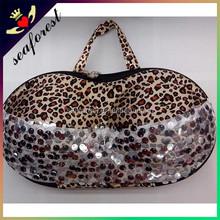 Best selling underwear storage box EVA travel bra panty bag,bra bag