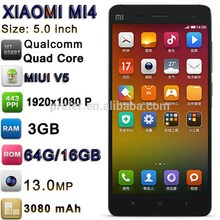 "Cellphone Android Brand SmartPhone Mobile Cell Phone 3G RAM 64GOM 13.0MP 5.0"" 1920x1080P Xiaomi Mi4 High Quality Cell Phone"