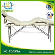 2 section massage bed/economically cosmetic bed facial massage table