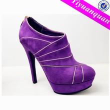 Pumps Shoes Purple Platform High Heel Women Shoes