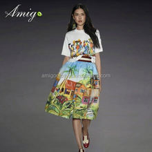 woman dress fashion 2014 cheap fashion resort wear manufacturers