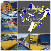 2015 China Factory New Design Giant Cheap Inflatable Water Slide Water Park for Sale